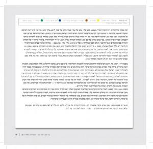 טקסט עמוד 49 שמסביר את התמונה יומן אישי גלובלי מתוך תווי היער מאת שי זכאי