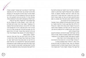 כפולת עמודים מתוך כמעט מפורסמת מאת מיכל בכר
