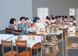 חדר אוכל - עדי כפיר  ddm009@gmail.com / מתוך הספר ISRAEL TO GO