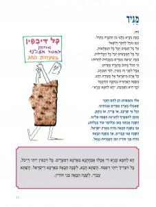 מתוך הגדה של פסח בחרוזים מאת אפרים סידון, הוצאת כתר