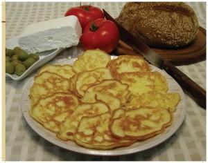 עג'ב ג'יבן - לביבות גבינה מלוחה עם ביצה / צילום מתוך הספר לבשל בעיראקית מאת גיא טוינה