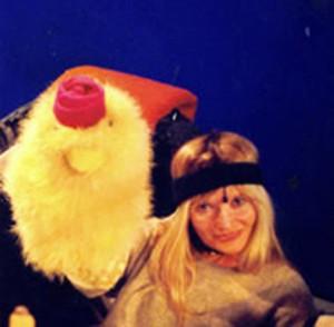 איילת לוין ונולי מפרפר נחמד (צילום אריק דרור)