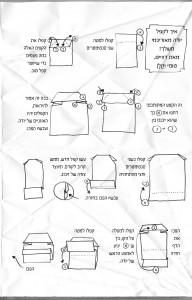 איך לקפל יודה מאוריגמי משלך! מאת דוויט, טומי וקלן (מתוך המקרה המוזר של יודה מאוריגמי)