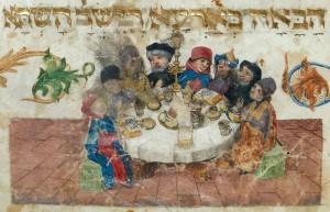 הגדת לונדון המאה ה- 15