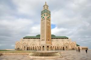 מרוקו - מסגד חסן שאטרסטוק (צילום: ברטי אוחיון)