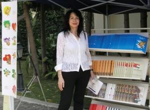 הסופרת מיכל סנונית . צילום: לליב סנדנר-סנונית