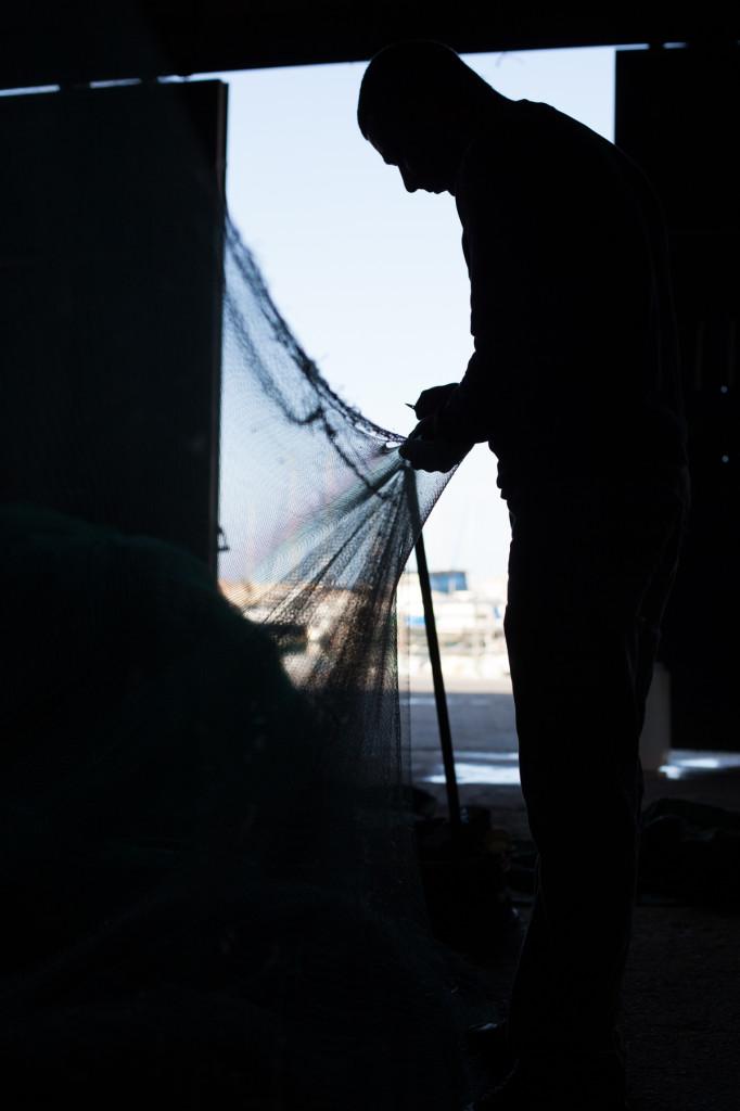 הדייג / צילום דנה פרידלנדר