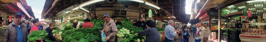 השוק / צילום 360 מעלות: דנה פרידלנדר