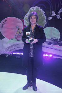הזוכה בפרס ספיר לספרות אסתר פלד (צילום שוקה כהן)