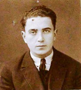 זלמן קיוומן, אביו הביולוגי של אריק לביא בתצלום שצולם בשנת 1927, תמונה שמצאתי במהלך מחקרי (קרדיט צילום לארכיון הלאומי בריגה)