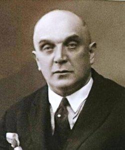 מרדכי קיוומן, סבו של אריק לביא בתצלום שצולם בשנת 1938, תמונה שמצאתי במהלך מחקרי (קרדיט לארכיון הלאומי בריגה)