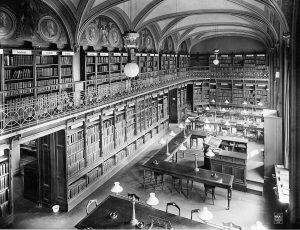 אולם הקריאה של ספריית האוניברסיטה בברלין (1901) צילום באדיבות הספרייה הלאומית