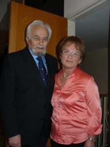 קרני ואנטולי בערב פסח 2009 (צילום תמר רובין)